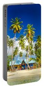 Caribbean Beach Shack Portable Battery Charger