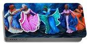 Caribbean Folk Dancers Portable Battery Charger