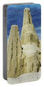 Caribbean Sand Castle  Portable Battery Charger by Betty LaRue