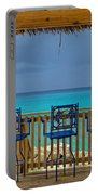Caribbean View-island Grill Grand Cayman Portable Battery Charger