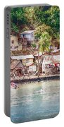 Caribbean Village Portable Battery Charger