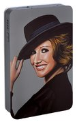 Carice Van Houten Painting Portable Battery Charger