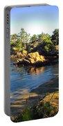 Carmel Meadows Beach At Point Lobos Portable Battery Charger