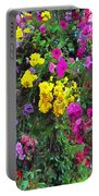 Carnival Flowers Portable Battery Charger