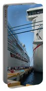 Carnival Triumph In Port Portable Battery Charger