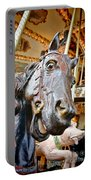 Carousel Horse Head Portable Battery Charger
