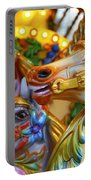 Carousel Horses Portable Battery Charger