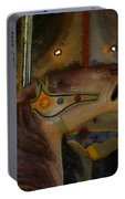 Carousel Horses Painterly Portable Battery Charger