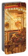 Carousel Night Lights Portable Battery Charger