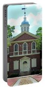 Carpenters Hall In Philadephia Portable Battery Charger