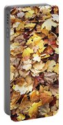 Carpet Of Leafs Portable Battery Charger