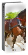 Carriage Artistic Portable Battery Charger