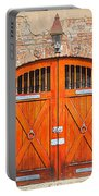 Carriage House Doors Portable Battery Charger