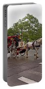 Carriage Ride In Central Park Portable Battery Charger