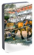 Carriage Ride Portable Battery Charger