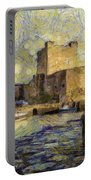 Starry Carrickfergus Castle Portable Battery Charger