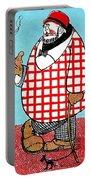 Cartoon 05 Portable Battery Charger by Svetlana Sewell