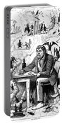 Cartoon Alcoholism, 1874 Portable Battery Charger