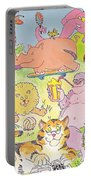Cartoon Animals Portable Battery Charger