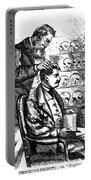Cartoon: Phrenology, 1865 Portable Battery Charger