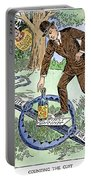 Cartoon: Temperance, C1915 Portable Battery Charger
