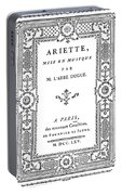 Cartouche, 1765 Portable Battery Charger