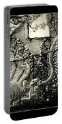 Carved Naga At Banteay Srey Portable Battery Charger
