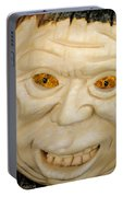 Carved Pumpkin Face Portable Battery Charger