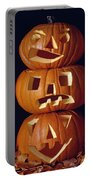 Carved Pumpkins  Portable Battery Charger
