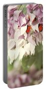 Cascade Of Flower Portable Battery Charger