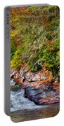 Cascade Of Water Portable Battery Charger