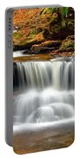 Cascades At Ricketts Glen Portable Battery Charger