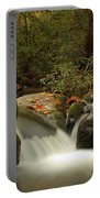 Cascades In Appalachian Mountains Portable Battery Charger