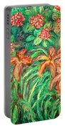 Cascading Day Lilies Portable Battery Charger