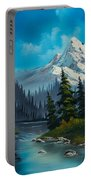 Cascading Falls Portable Battery Charger by C Steele