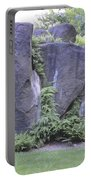Cascading Fern On Rocks Portable Battery Charger
