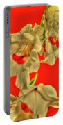 Cascading Gladiolas Portable Battery Charger