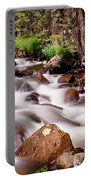 Cascading Rocky Mountain Forest Creek Portable Battery Charger