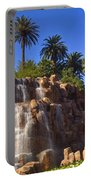 Cascading Rocky Waterfall Portable Battery Charger