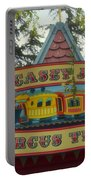 Casey Jr Circus Train Fantasyland Signage Disneyland Portable Battery Charger