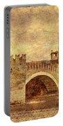 Castel Vecchio And Bridge In Verona Italy Portable Battery Charger