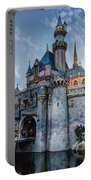 Castle And Clouds Portable Battery Charger