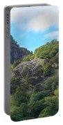 Castle Crag In Borrowdale Portable Battery Charger