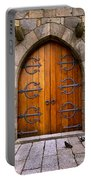 Castle Door Portable Battery Charger by Carlos Caetano