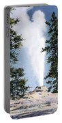 Castle Geyser Yellowstone Np Portable Battery Charger