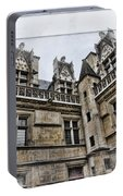 Castle In The Clouds Paris France Portable Battery Charger