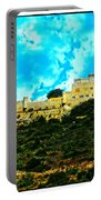 Castle In The Hot Summer Sun Portable Battery Charger
