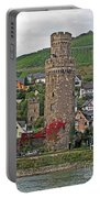 Castle Of The Rhine Portable Battery Charger