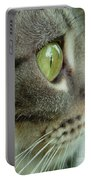 Cat Face Profile Portable Battery Charger