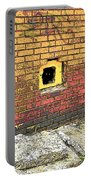 Cat In A Hole In A Wall Portable Battery Charger